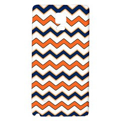 Chevron Party Pattern Stripes Galaxy Note 4 Back Case