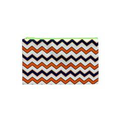 Chevron Party Pattern Stripes Cosmetic Bag (xs)
