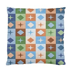 Fabric Textile Textures Cubes Standard Cushion Case (two Sides)