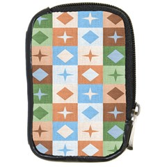 Fabric Textile Textures Cubes Compact Camera Cases