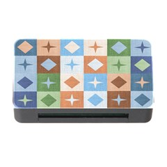 Fabric Textile Textures Cubes Memory Card Reader With Cf