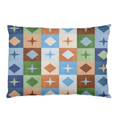 Fabric Textile Textures Cubes Pillow Case (two Sides)