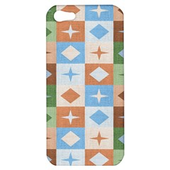 Fabric Textile Textures Cubes Apple iPhone 5 Hardshell Case