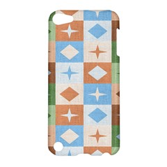 Fabric Textile Textures Cubes Apple Ipod Touch 5 Hardshell Case