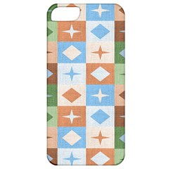 Fabric Textile Textures Cubes Apple Iphone 5 Classic Hardshell Case