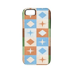 Fabric Textile Textures Cubes Apple Iphone 5 Classic Hardshell Case (pc+silicone)