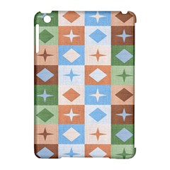 Fabric Textile Textures Cubes Apple Ipad Mini Hardshell Case (compatible With Smart Cover)