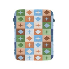 Fabric Textile Textures Cubes Apple Ipad 2/3/4 Protective Soft Cases