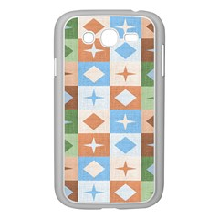 Fabric Textile Textures Cubes Samsung Galaxy Grand Duos I9082 Case (white)