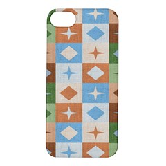 Fabric Textile Textures Cubes Apple Iphone 5s/ Se Hardshell Case