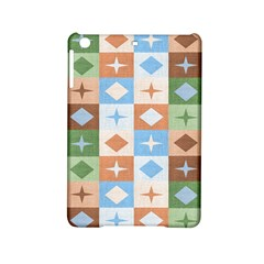 Fabric Textile Textures Cubes Ipad Mini 2 Hardshell Cases