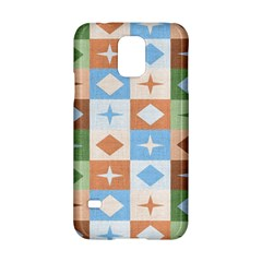 Fabric Textile Textures Cubes Samsung Galaxy S5 Hardshell Case
