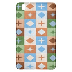 Fabric Textile Textures Cubes Samsung Galaxy Tab Pro 8 4 Hardshell Case