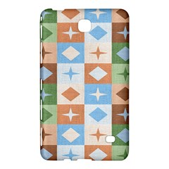 Fabric Textile Textures Cubes Samsung Galaxy Tab 4 (7 ) Hardshell Case