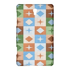 Fabric Textile Textures Cubes Samsung Galaxy Tab S (8.4 ) Hardshell Case