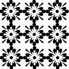 Floral Illustration Black And White Magic Photo Cubes