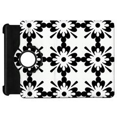 Floral Illustration Black And White Kindle Fire Hd 7
