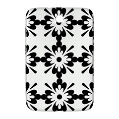 Floral Illustration Black And White Samsung Galaxy Note 8 0 N5100 Hardshell Case
