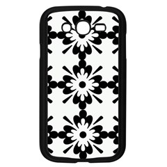 Floral Illustration Black And White Samsung Galaxy Grand Duos I9082 Case (black)