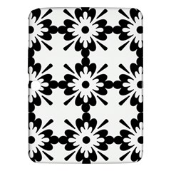 Floral Illustration Black And White Samsung Galaxy Tab 3 (10 1 ) P5200 Hardshell Case