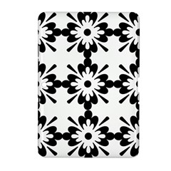 Floral Illustration Black And White Samsung Galaxy Tab 2 (10 1 ) P5100 Hardshell Case