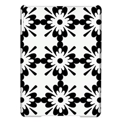 Floral Illustration Black And White Ipad Air Hardshell Cases