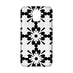Floral Illustration Black And White Samsung Galaxy S5 Hardshell Case