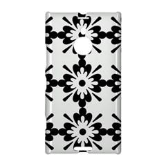 Floral Illustration Black And White Nokia Lumia 1520