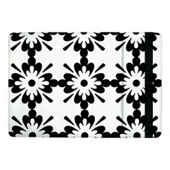 Floral Illustration Black And White Samsung Galaxy Tab Pro 10 1  Flip Case