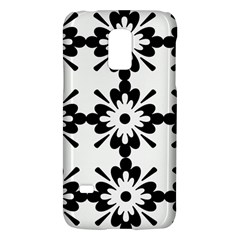 Floral Illustration Black And White Galaxy S5 Mini