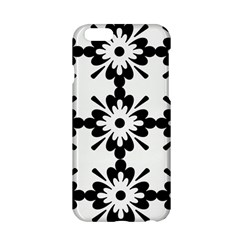 Floral Illustration Black And White Apple Iphone 6/6s Hardshell Case