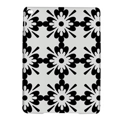 Floral Illustration Black And White Ipad Air 2 Hardshell Cases