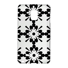 Floral Illustration Black And White Galaxy Note Edge