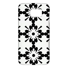 Floral Illustration Black And White Galaxy S6