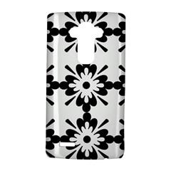 Floral Illustration Black And White Lg G4 Hardshell Case