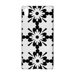 Floral Illustration Black And White Sony Xperia Z3+