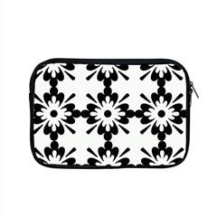 Floral Illustration Black And White Apple Macbook Pro 15  Zipper Case