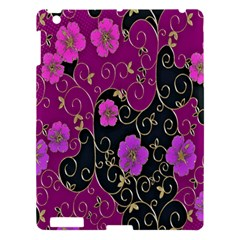 Floral Pattern Background Apple Ipad 3/4 Hardshell Case
