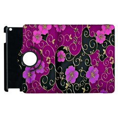 Floral Pattern Background Apple Ipad 3/4 Flip 360 Case