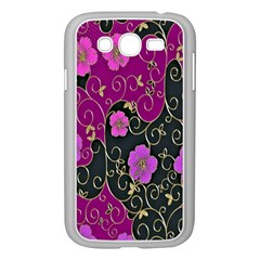 Floral Pattern Background Samsung Galaxy Grand Duos I9082 Case (white)
