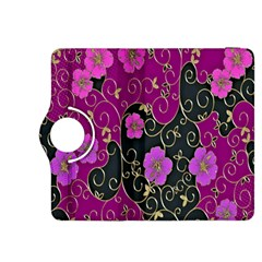 Floral Pattern Background Kindle Fire Hdx 8 9  Flip 360 Case