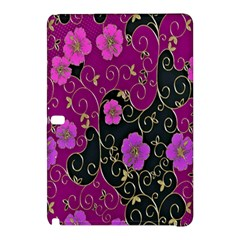 Floral Pattern Background Samsung Galaxy Tab Pro 12 2 Hardshell Case