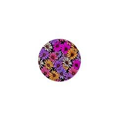 Floral Pattern 1  Mini Magnets