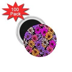 Floral Pattern 1 75  Magnets (100 Pack)