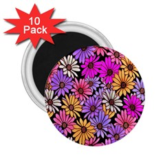 Floral Pattern 2 25  Magnets (10 Pack)