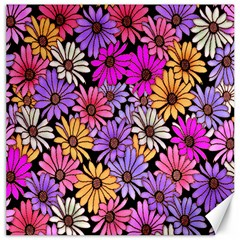 Floral Pattern Canvas 12  X 12