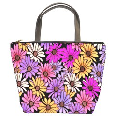 Floral Pattern Bucket Bags