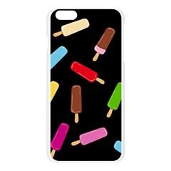 Decorative ice cream pattern Apple Seamless iPhone 6 Plus/6S Plus Case (Transparent)