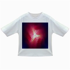 Fractal Red Sample Abstract Pattern Background Infant/toddler T Shirts