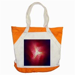 Fractal Red Sample Abstract Pattern Background Accent Tote Bag